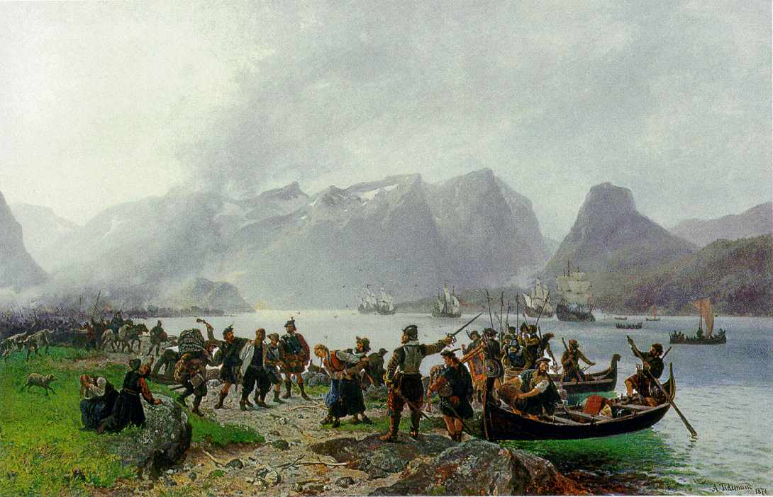 Adolph Tidemand_Sinclairs_landing